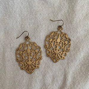 Stella & Dot statement dangle earrings